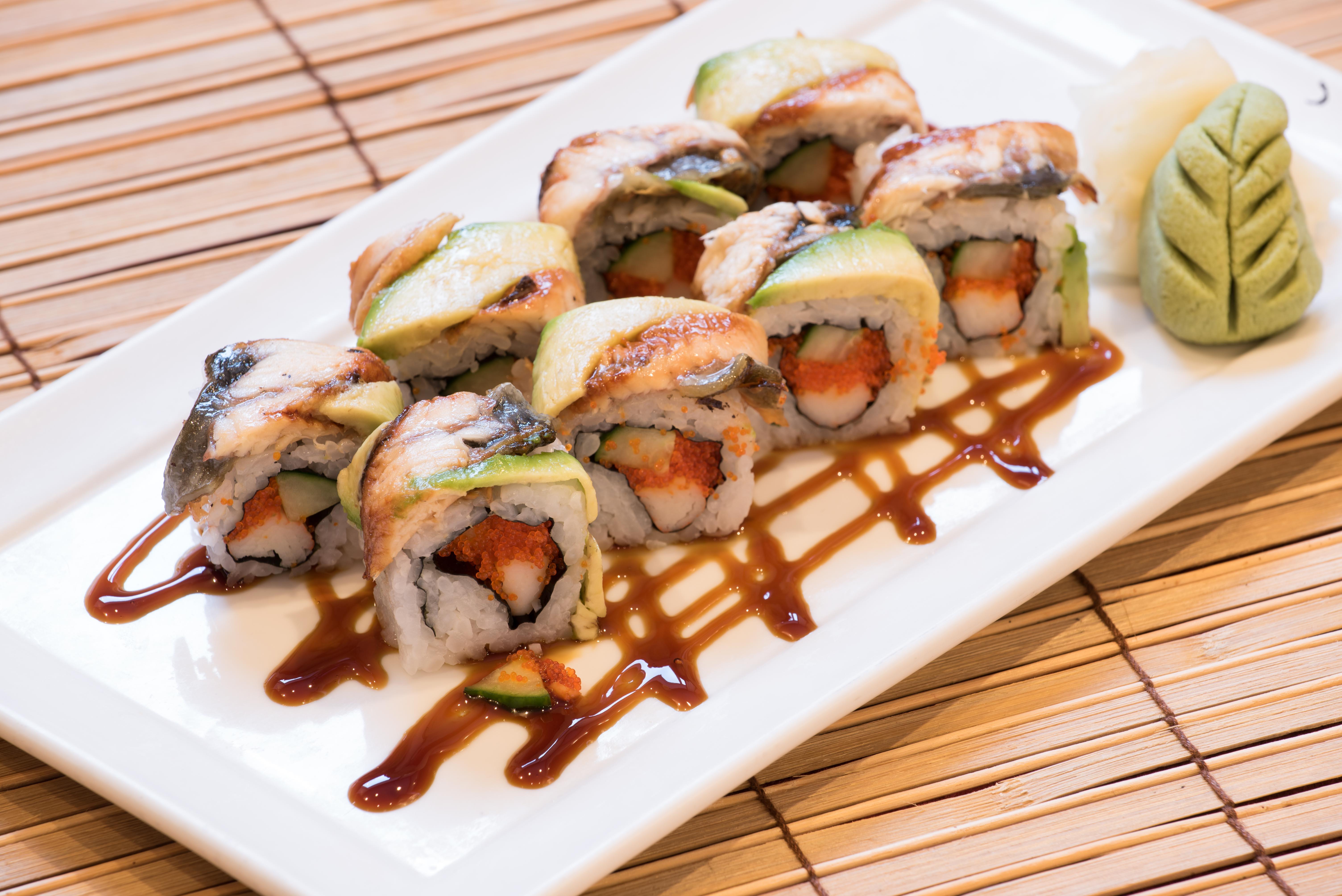 Special Eel Roll 10.00