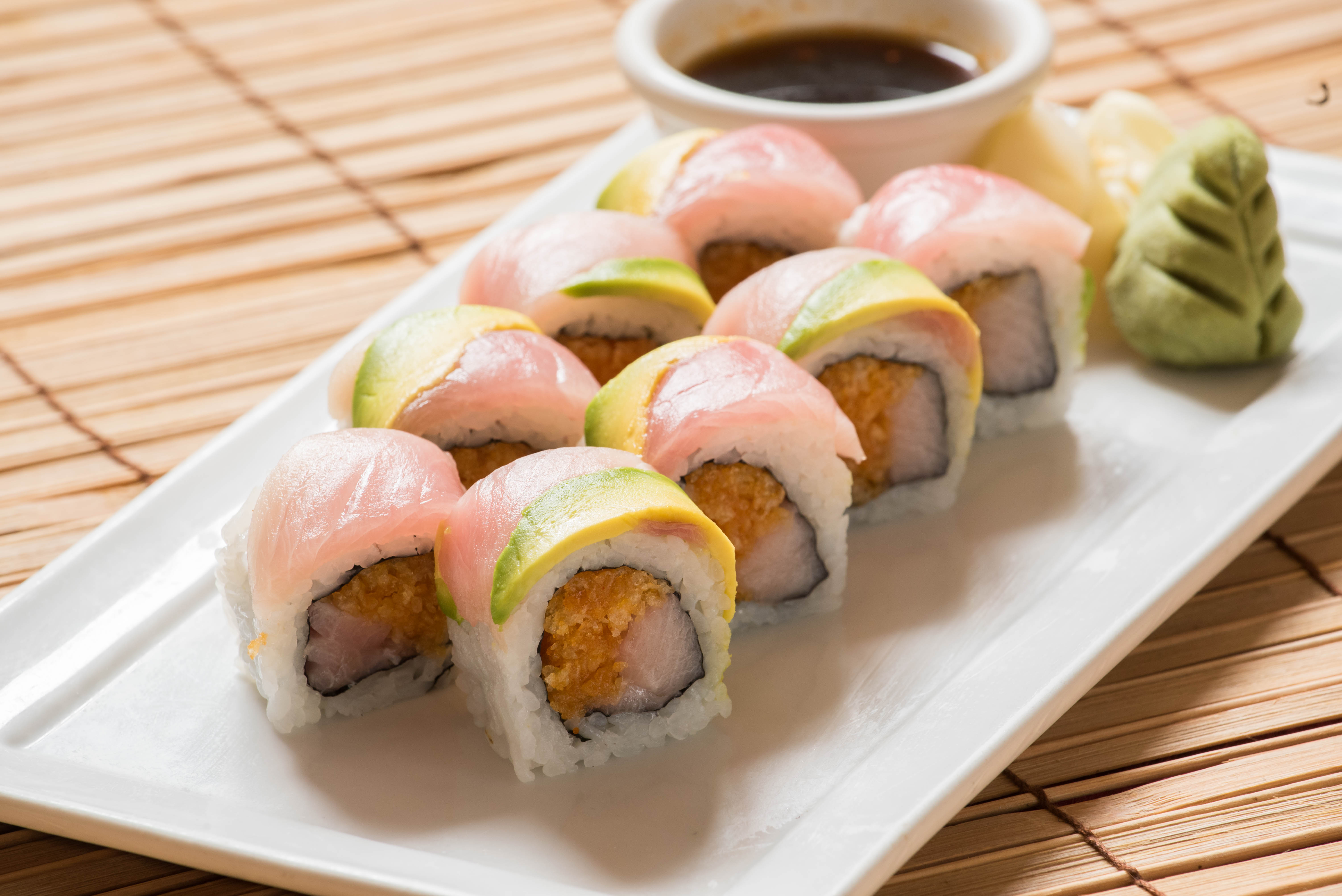 Double Yellowtail Roll 12.95