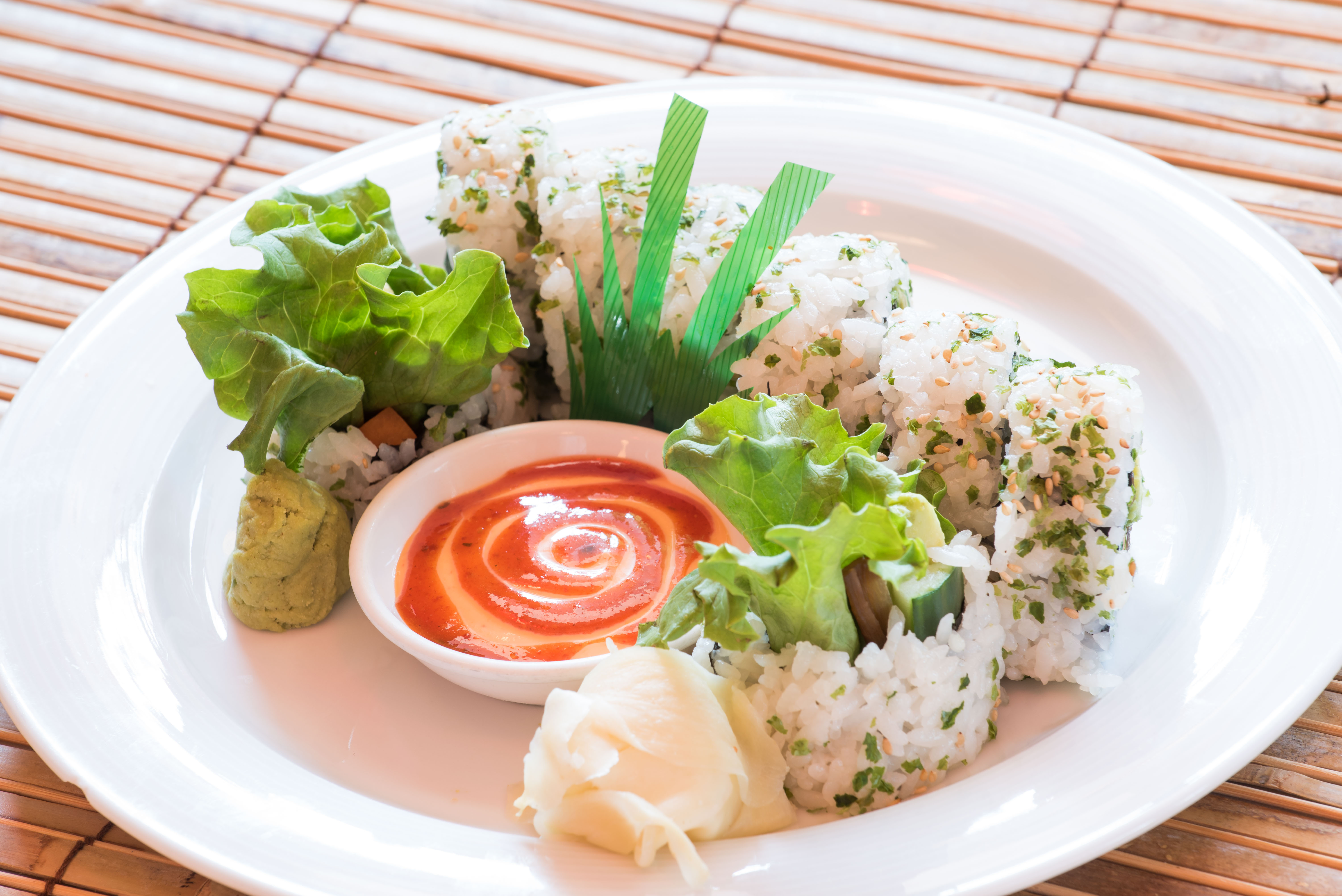 Veggie Delight Roll 10.00