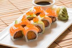 Double Salmon Roll 12.00