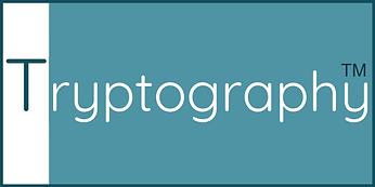 Tryptography - New - Border - Blue - Lar