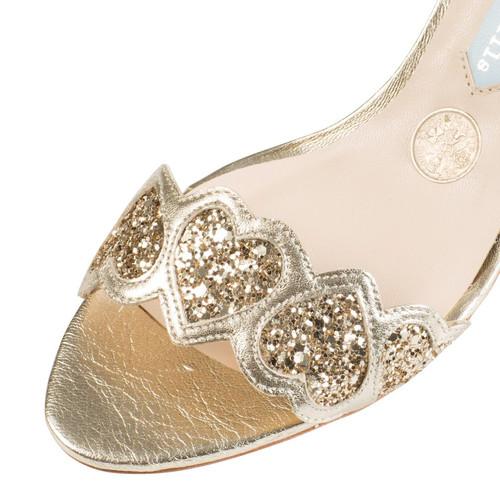 "Sandales ""Esmeralda Gold"""
