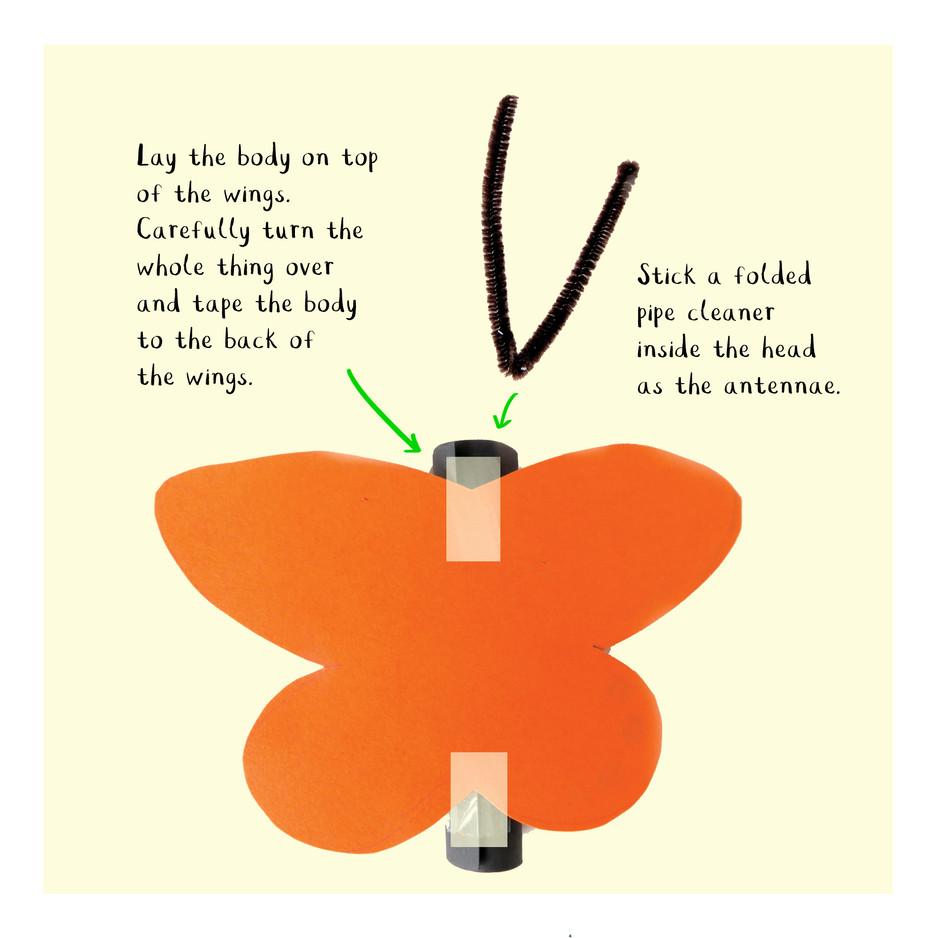 Loo Roll Craft Club - Butterfly 5