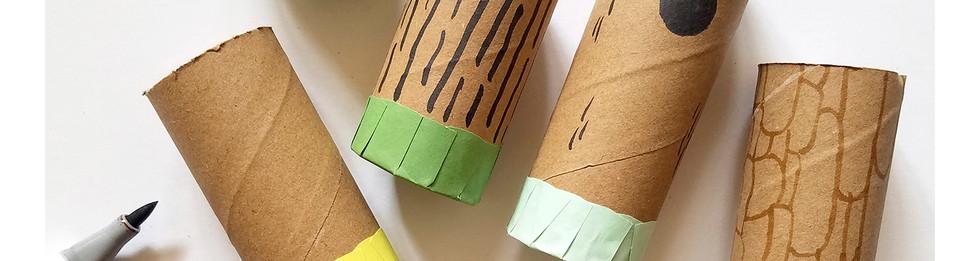 Loo Roll Craft Club - Desk Tidy 6