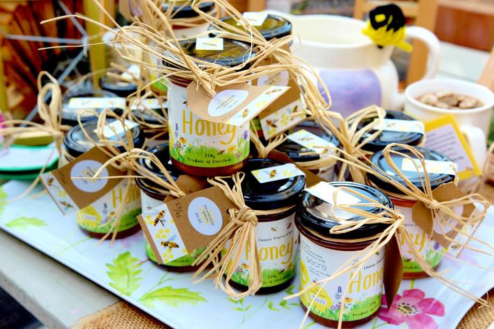 Honey Jars at Emmaus Summer Fair