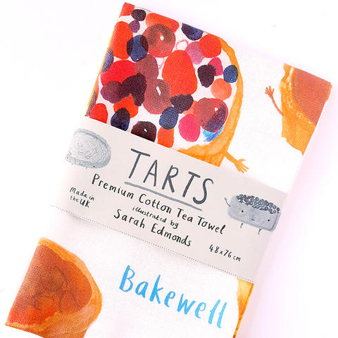 Tarts Tea Towel