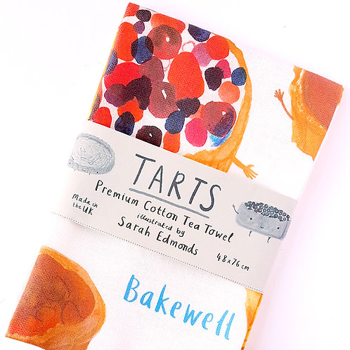 Tarts Tea Towel