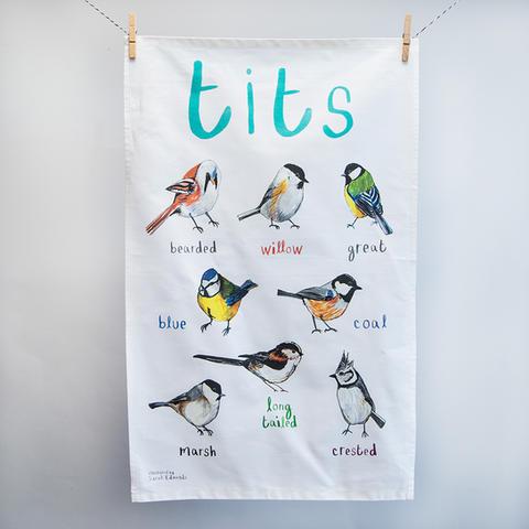 Tits Tea Towel