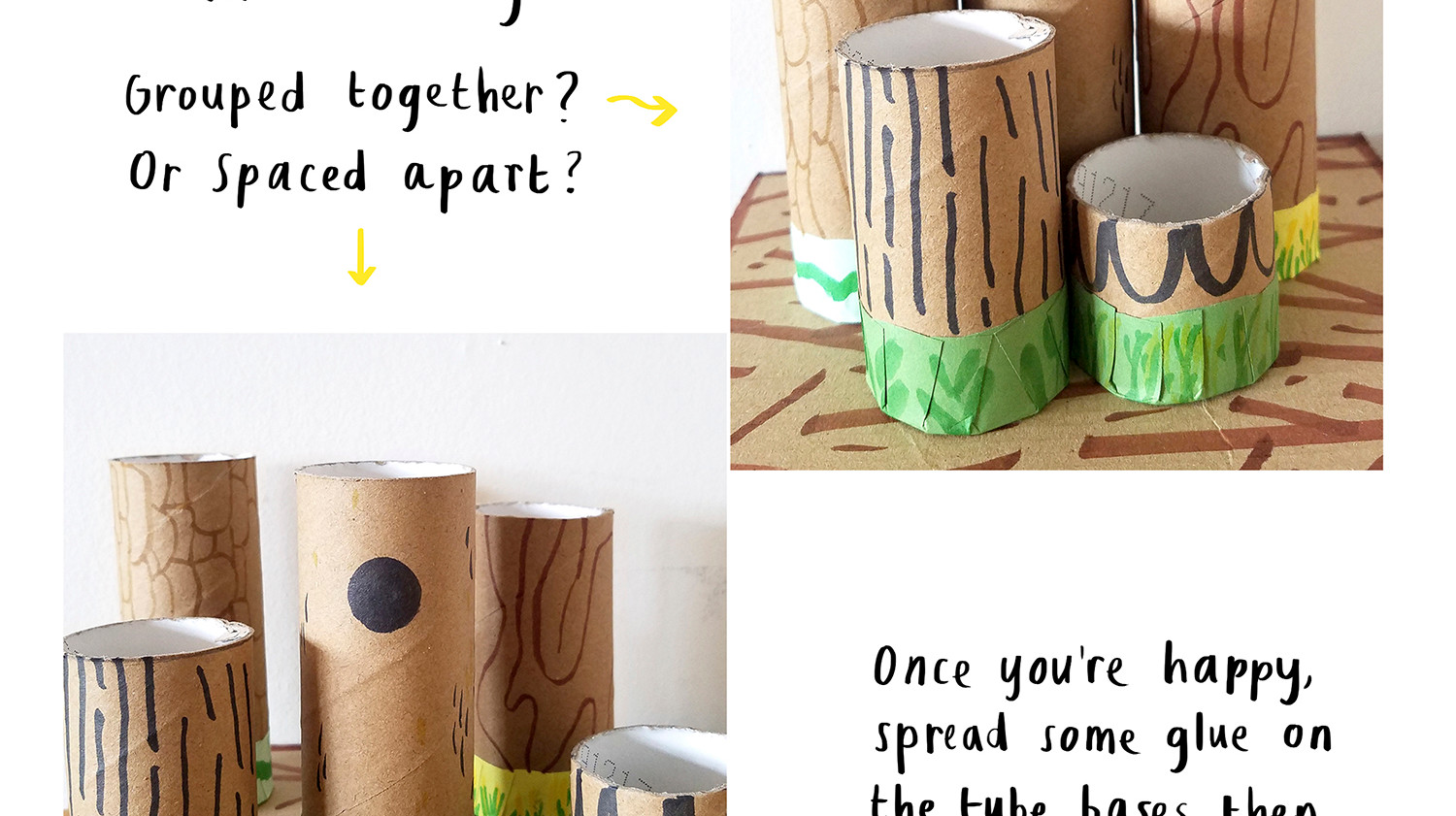 Loo Roll Craft Club - Desk Tidy 8