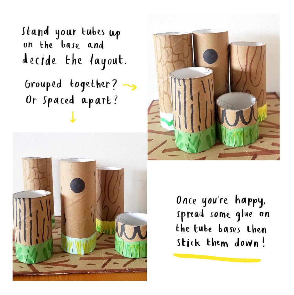Loo Roll Craft Club - Desk Tidy 8
