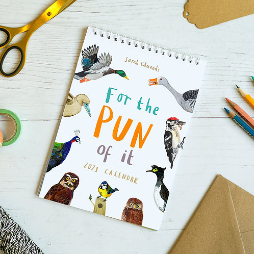 'For the Pun of It' 2021 Calendar