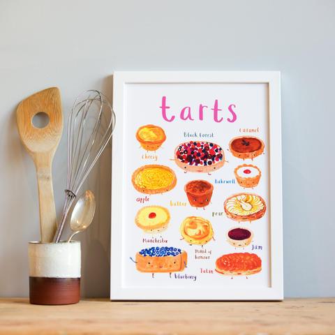 Tarts Art Print