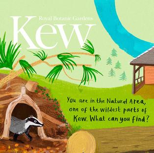 Winter Spotting Sheet for Kew Gardens