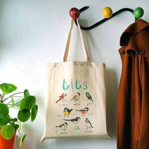 Tits Tote Bag
