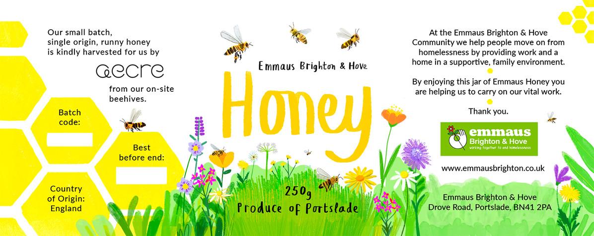 Full Honey Label