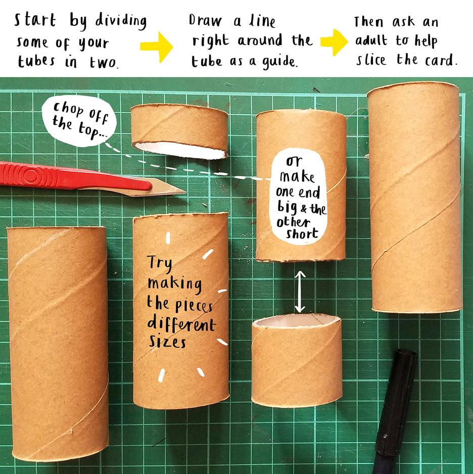 Loo Roll Craft Club - Desk Tidy 3