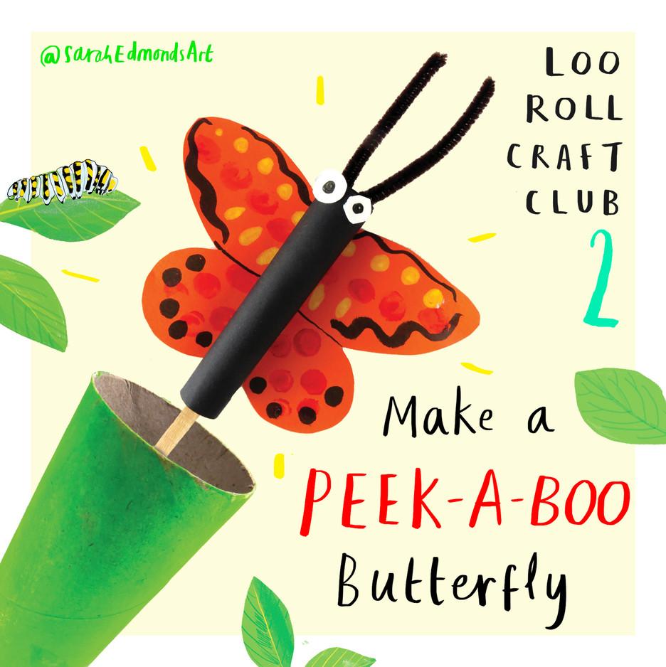 Loo Roll Craft Club - Butterfly 1