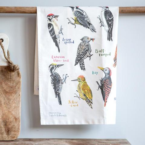 Peckers Tea Towel