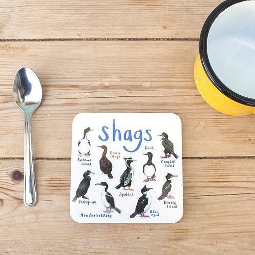 Shags Coaster