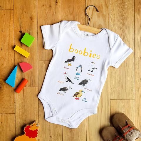 Boobies Baby Vest