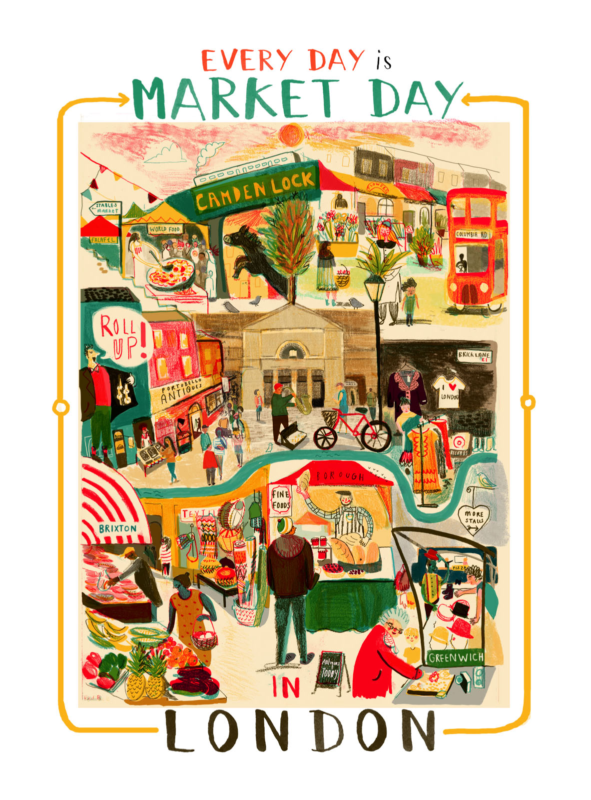 London Markets - Sarah Edmonds