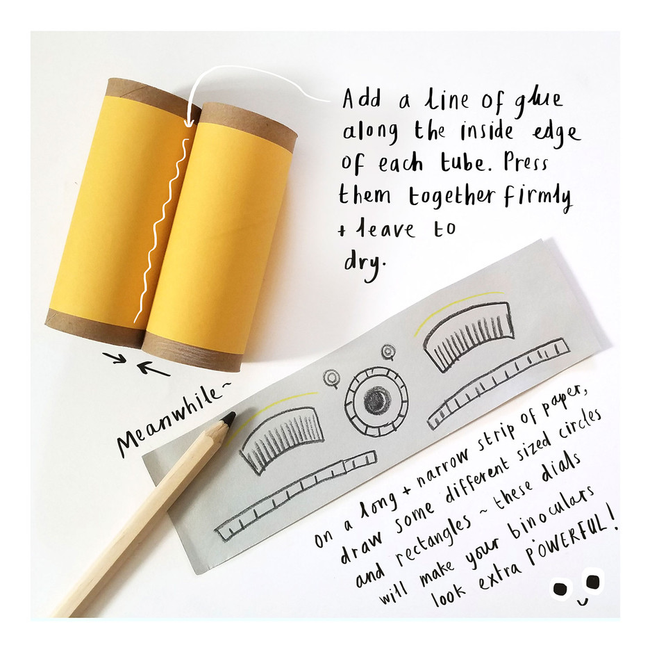 Loo Roll Craft Club - Binoculars 4