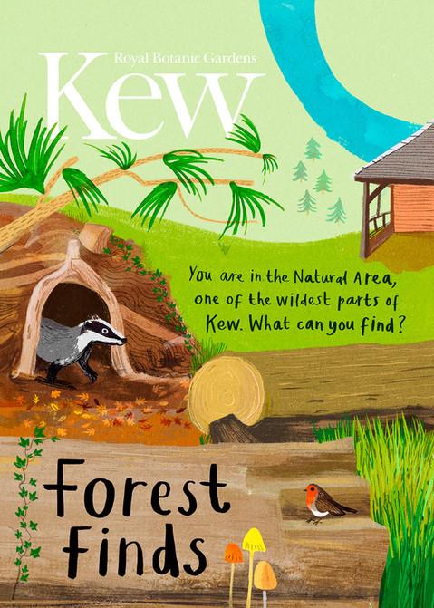 Kew Gardens Forest Finds Spotting Sheet Sarah Edmonds