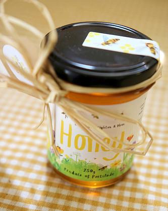 Honey Jar Detail