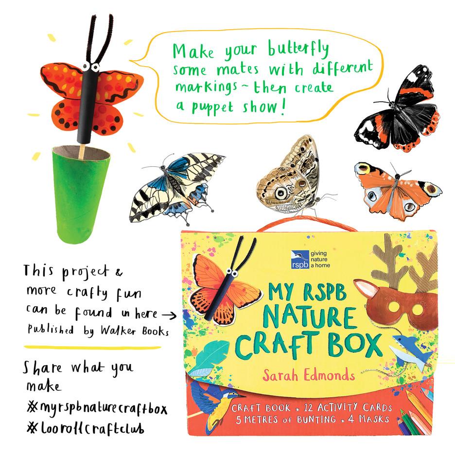 Loo Roll Craft Club - Butterfly 8