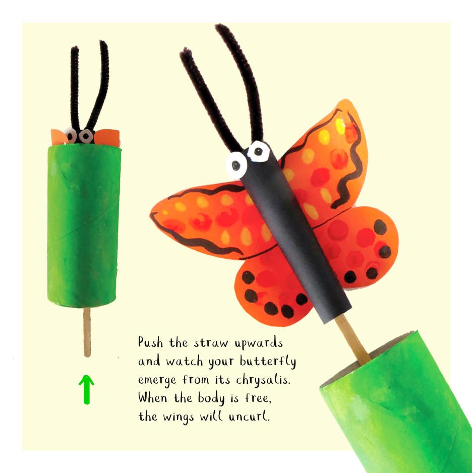 Loo Roll Craft Club - Butterfly 7