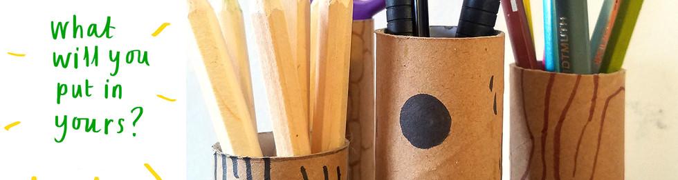 Loo Roll Craft Club - Desk Tidy 9