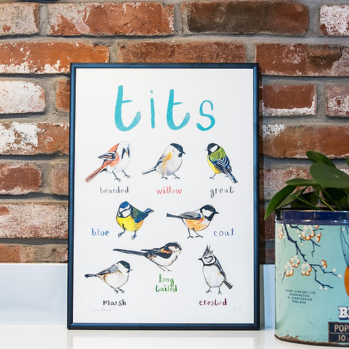 Tits A3 Print
