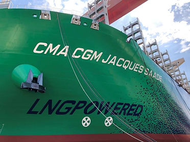 CMA CGM JACQUES SAADE_LNG POWERED_Septem