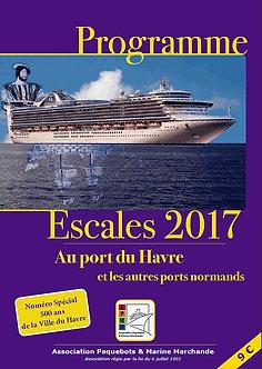 PROGRAMME ESCALES 2017