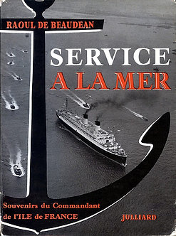 SERVICE A LA MER