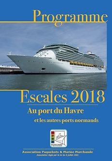 Programme ESCALES 2018