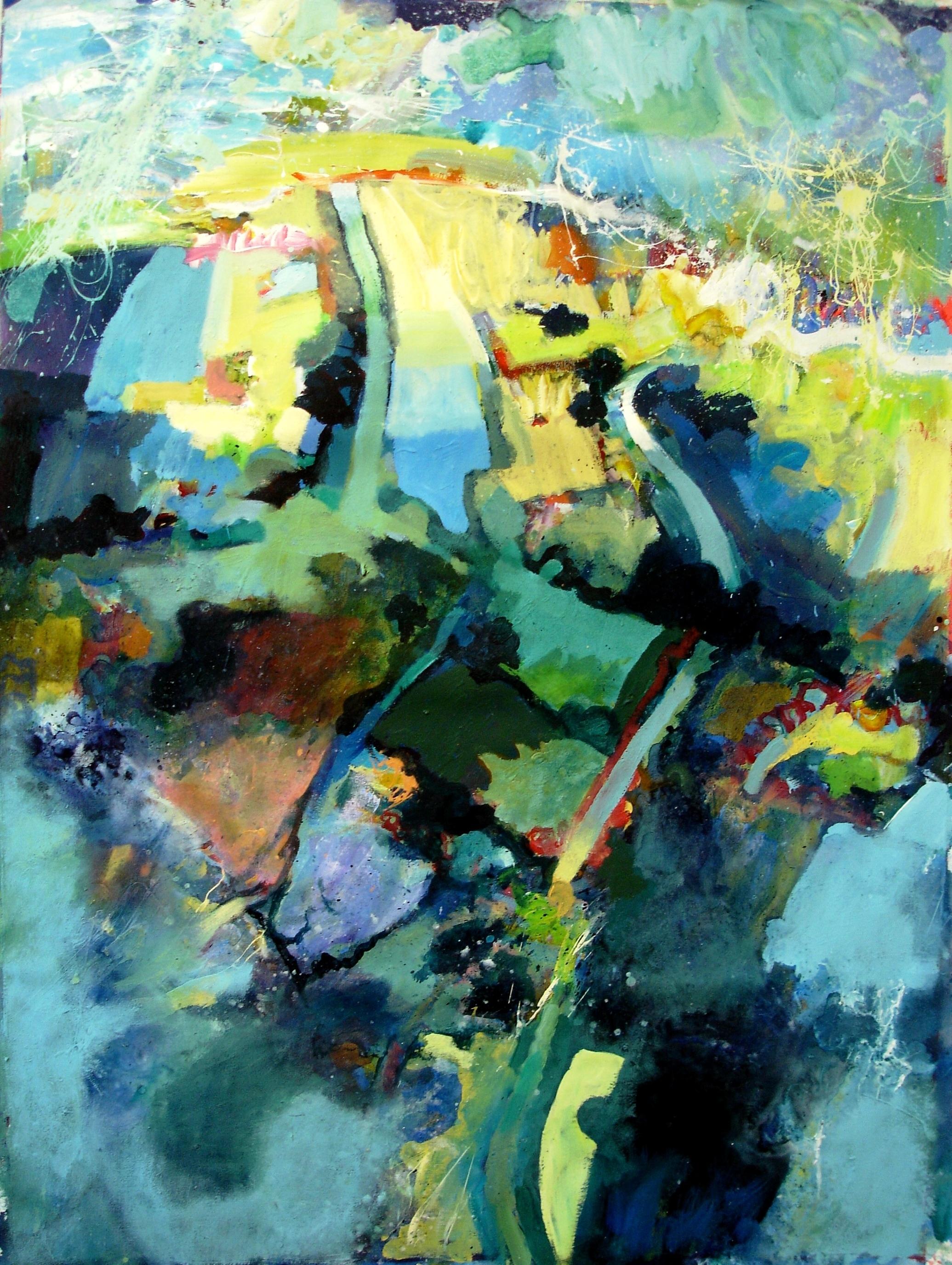 John McClenaghen Landscape in Freefall