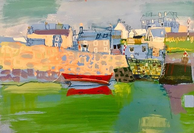 The Red Boat, Portsoy