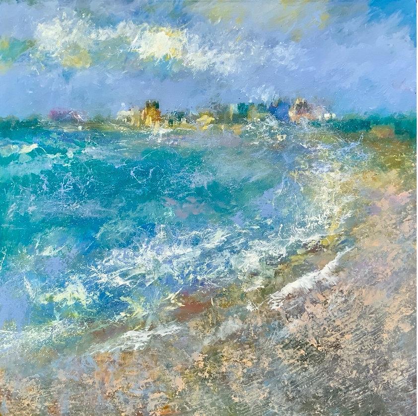 Rain and Sea Spray, Aldeburgh