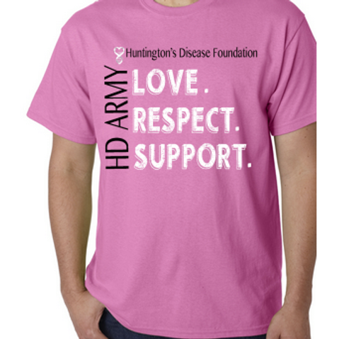 Love. Respect. Support. HD ARMY T-Shirt