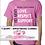 Thumbnail: COMBO:              Pink Style Wristband & T-shirt