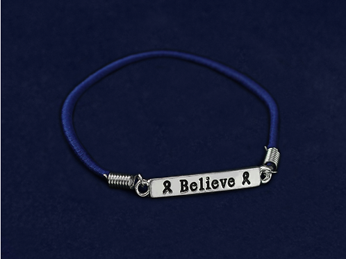 Believe Stretch Charm Bracelet