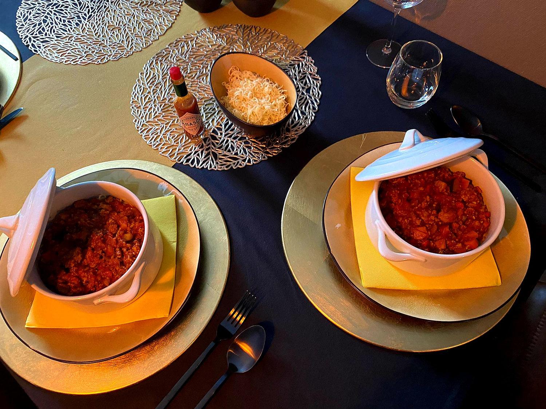 Veggie Spaghetti arrangement