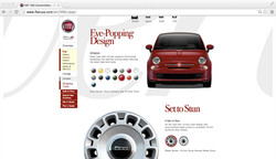 FIAT 500C Detail Page