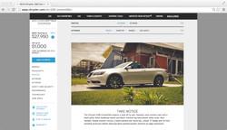 Chrysler 200C Detail Page
