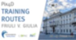 Pix4D Training Routes - Friuli-Venezia G