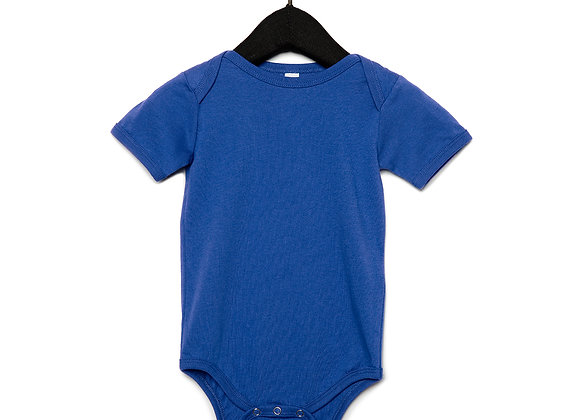 Infant Jersey Short Sleeve Body Suit 100B