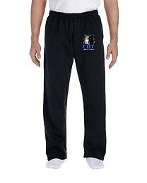 Adult DryBlend Open Bottom Sweatpants G123