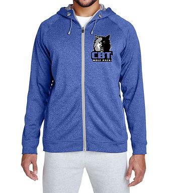 Mens Excel Melange Performance Fleece Jacket TT38