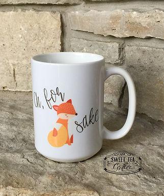 Oh, for foxes sake mug